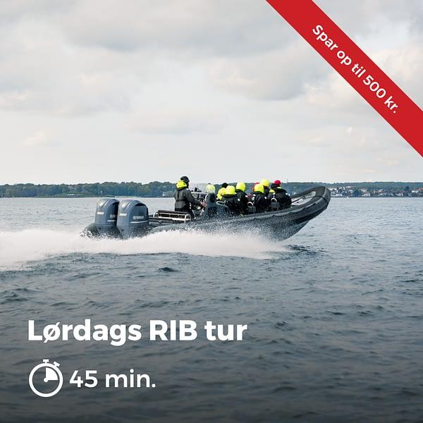 Lordags RIB Tur 45