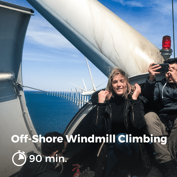 Offshore Windmill Climbing
