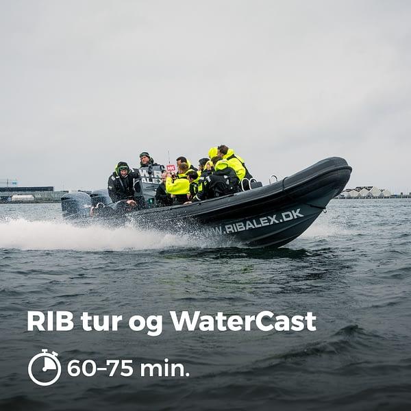 RIB Tur og WaterCast