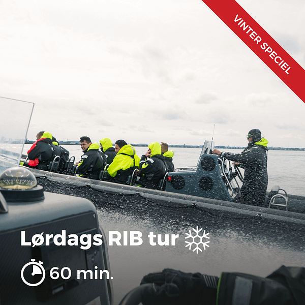 Lordags RIB Tur 60 Vinter